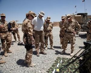 Ponta a dat o fuga pana in Afganistan