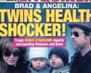 Gemenii Angelinei Jolie si ai lui Brad Pitt ar putea avea sindromul Down