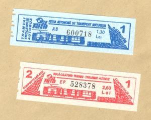 Pretul unui bilet RATB ar putea creste de la 1,3 lei la 1,8 lei