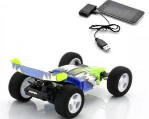 Stunt Car Racer, masinuta de curse controlata cu ajutorul iPhone-ului