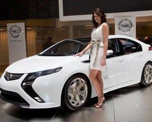 Opel Ampera, prima masina electrica din Romania