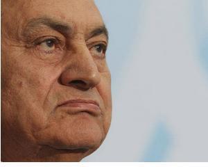 Fostul presedinte egiptean, Hosni Mubarack, complice la uciderea a 846 de persoane
