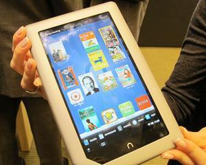 Barnes & Noble ataca direct Amazon.com cu o tableta de 250 de dolari