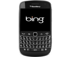 Bing inlocuieste Google ca motor de cautare implicit pe dispozitivele BlackBerry