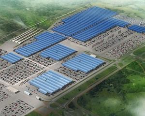Renault va instala 450.000 mp de panouri solare pe acoperisurile fabricilor
