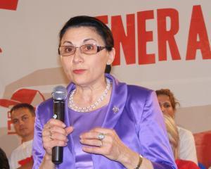 Ecaterina Andronescu va fi investita in functia de ministru al Educatiei pe 2 iulie