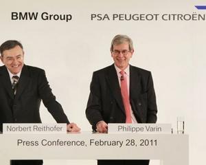 BMW si Peugeot vor sa dezvolte tehnologii pentru hibrizi impreuna