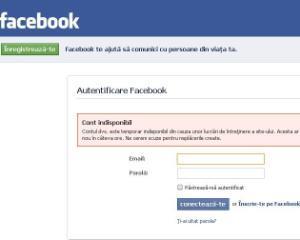 Cati romani au conturi pe Facebook