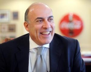 Coca-Cola pregateste terenul pentru plecarea lui Muhtar Kent?