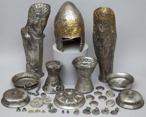 Un tezaur getic din aur masiv, descoperit langa Romania