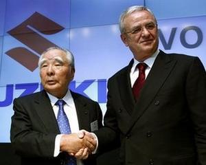 """Parteneriatul Volkswagen-Suzuki a ajuns intr-un """"punct mort"""""""