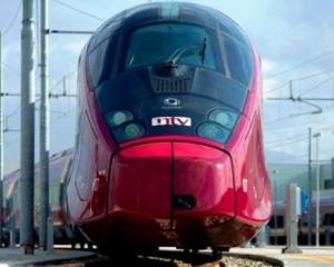 Italienii pot calatori cu un nou tren de mare viteza