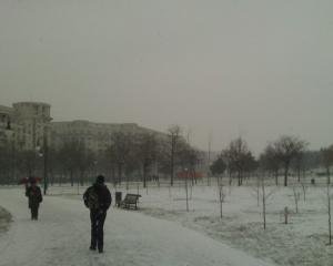 Meteo: Iarna nu ne lasa pana vineri