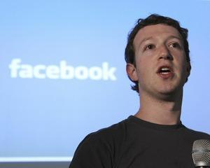 Mark Zuckerberg a ajuns sa detina 30 la suta din Facebook