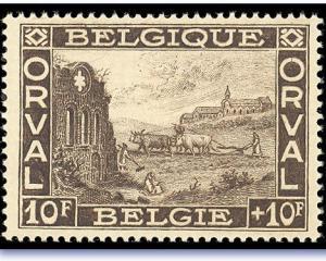 In Belgia apar timbrele cu aroma de ciocolata
