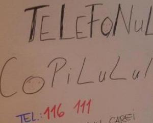 77.000 de apeluri la Asociatia Telefonul Copilului