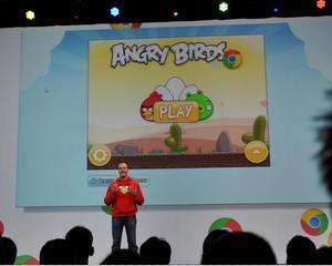 Puteti juca acum Angry Birds, gratuit, in browserul de internet