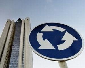 Livrarile Gazprom catre Europa sunt  franate de consumul Ucrainei
