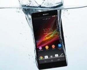 CES 2013: Sony a lansat smartphone-ul rezistent la apa Xperia Z