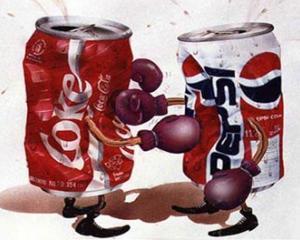 Coca Cola acapareaza podiumul in batalia cu Pepsi