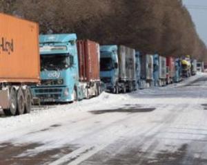Camioanele de peste 7,5 tone nu mai au voie sa intre in Vama Nadlac