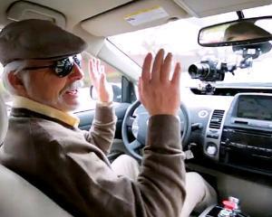 Toyota Prius Google - masina pentru nevazatori