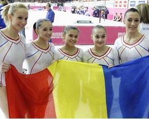 Echipa de gimnastica a Romaniei va imparti 30.000 de euro pentru succesul de la Bruxelles