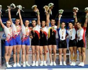 Romania, medalie de argint la gimnastica aerobica