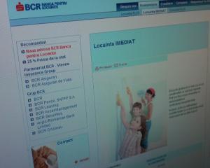 BCR Banca pentru Locuinte taie dobanda la creditul intermediar cu ipoteca