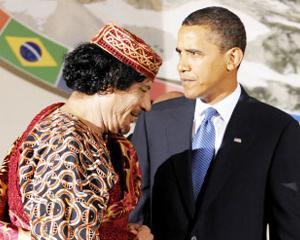 SEMNAT MU'AUMER: Liderul libian ii trimite o noua scrisoare lui Obama, in care-l roaga sa opreasca atacurile aeriene
