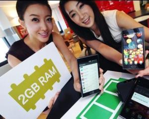 LG a lansat primul smartphone cu 2 GB memorie RAM