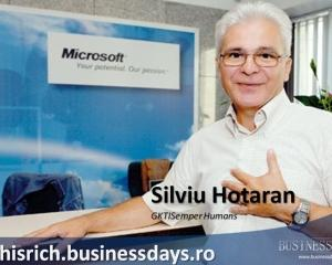 Antreprenori vs Investitori cu Robert Hisrich: Interviu cu Silviu Hotaran, GKTI Semper Human