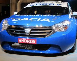 Dacia Lodgy prefigureaza designul primului monovolum din gama sa