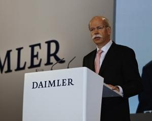 Profitul Daimler bate recorduri: 1,704 miliarde de euro
