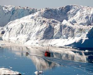 Viscolul de primavara, efect al topirii banchizei arctice