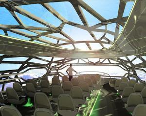 Inovatie aeronautica: Airbus construieste avionul transparent