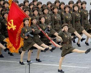 Coreea de Nord isi sarbatoreste conducatorul cu fast, desi tara se zbate in saracie