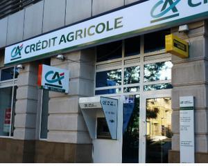 Credit Agricole a inregistrat in T2 o scadere a profitului cu 67%