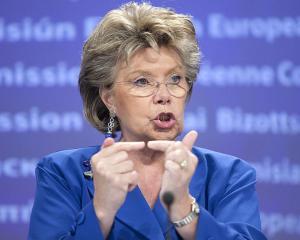 Fraudele cu fonduri europene sunt mai mari decat se credea. Viviane Reding vrea pedepse aspre