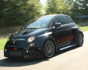 Fiat 500 a mers la sala de forta
