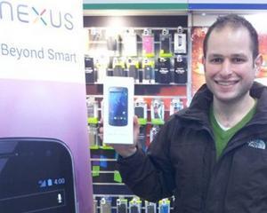Incep livrarile Galaxy Nexus, primul telefon cu Android 4.0 Ice Cream Sandwich