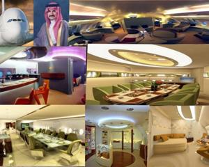 Printul saudit care detine un palat zburator