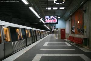 Inca un incident grav la metrou:  O persoana a fost lovita de o garnitura la statia Aparatorii Patriei din Capitala