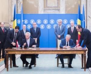 Romania a semnat Memorandumul de lansare a programului de inzestrare a armatei cu sisteme Patriot