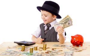 Lasa-le copiilor tai atat de multi bani incat sa creada ca pot face orice, dar nu atat de multi incat sa nu mai faca nimic