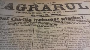 Centenarul Marii Uniri: Astazi, acum 100 de ani. Cum se vedea Romania in presa de acum un veac (XVIII)