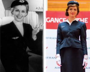 70 de ani de la prima stewardesa la bordul aeronavelor Air France