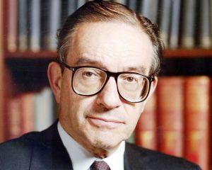 ANALIZA Alan Greenspan, Captain America al anilor '90