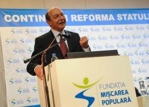 PMP sustine la prezidentiale o persoana foarte apropiata de Traian Basescu