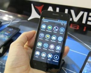 P5 Qmax, cel mai mare telefon Allview, din Romania